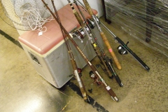 Fishing and camping gear