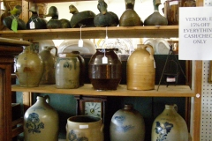 Brown and Bluse Pottery